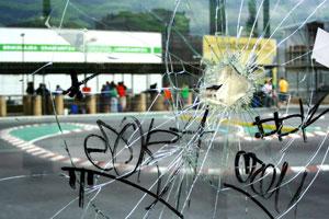 Changement de vitres cassées