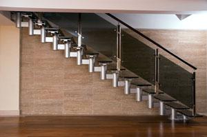 Création d'un escalier sur mesure (bois, métal, béton, verre, etc.