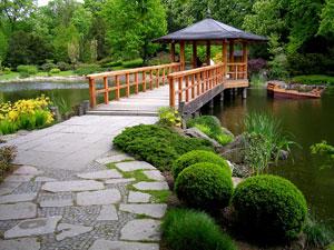 Décoration jardin / patio / pergola / treillage / fontaine