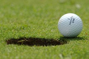 Installation d'un mini golf