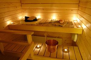 Fourniture et pose de sauna / hammam