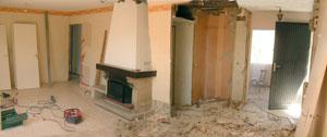 Rénovation complète d'appartements, pavillons, bureaux