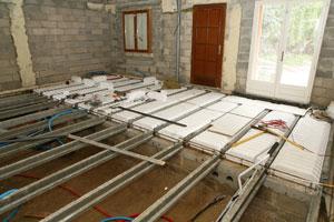 Réparation de plancher
